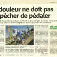 Le vélo et la santé (article Nice Matin)