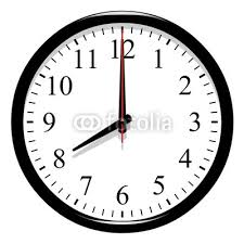 Vignette Horloge 8h00