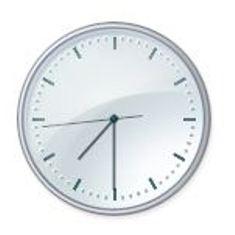 Vignette Horloge 7h30